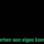 LogoMakr_Werken aan eigen bomen